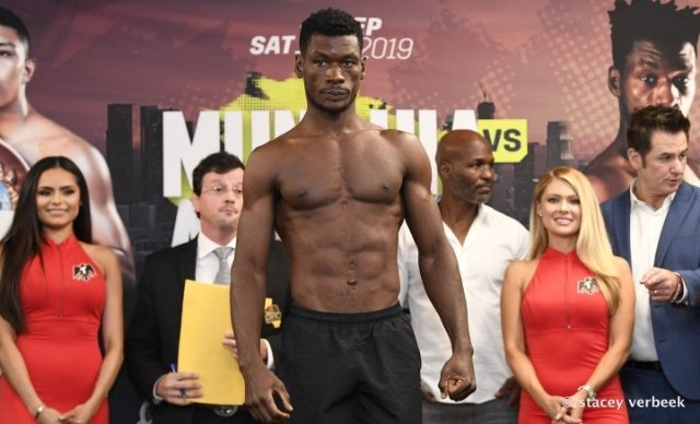 """Ghanaian boxer Patrick Allotey in hot waters after being caught pummeling a """"helpless"""" football fan"""