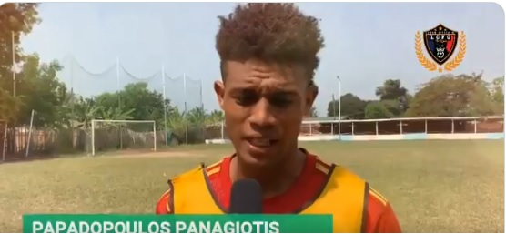 Legon Cities FC handed injury boost as Papadoulos Panagiotis declares himself fit to face Kotoko