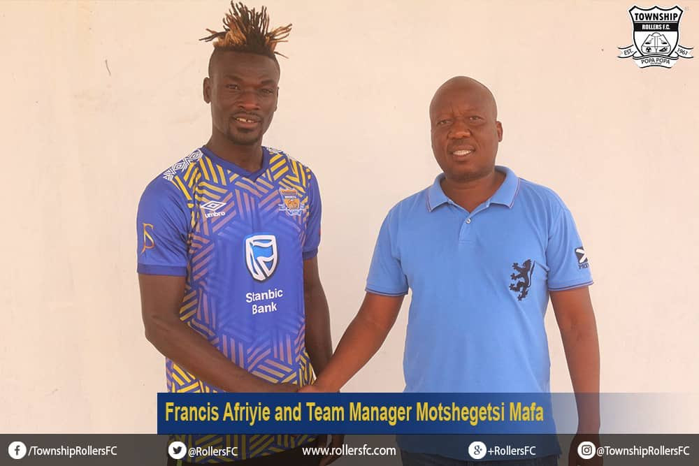OFFICIAL: Botswanan Premier League side Township Rollers snap up Ghanaian striker Francis Afriyie