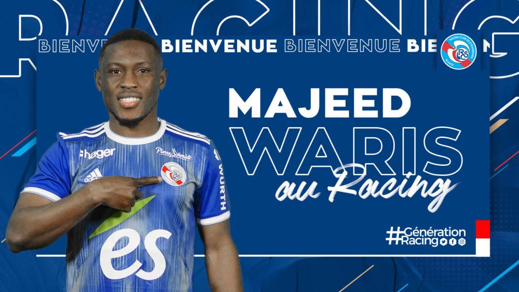 Majeed Waris named in Strasbourg team to face Monaco