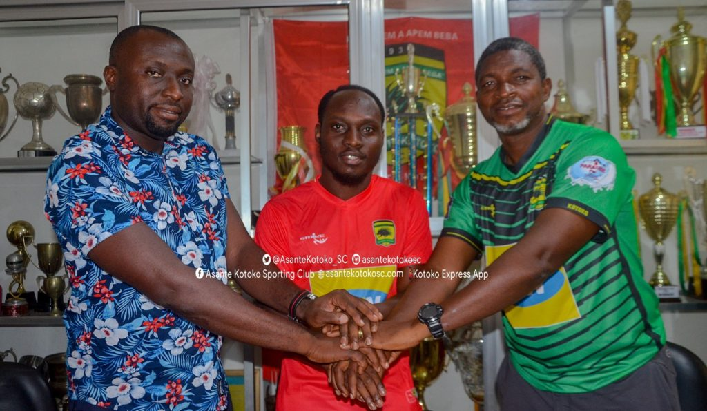 William Opoku Mensah delighted to join 'dream club' Asante Kotoko