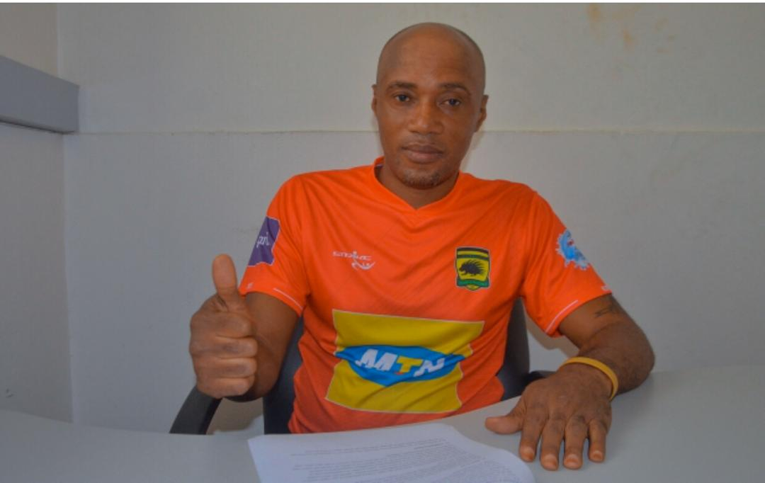 Ex-Kotoko defender Richard Manu signs five-year contract as club's Youth Team coach