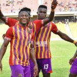 VIDEO: Hearts of Oak striker Joseph Esso scores sublime free-kick against Dwarfs