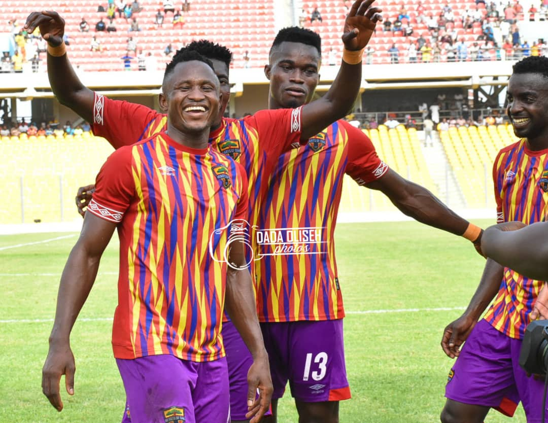 Esso confident he will score more goals for Hearts of Oak