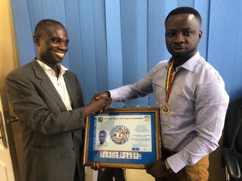 AshGold CEO Frederick Acheampong receives Kofi Annan medal; named ambassador for UN Blueprint Mission