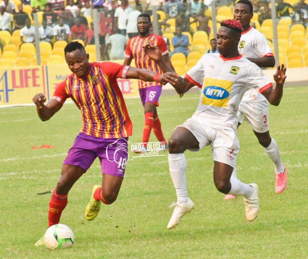 Hearts of Oak Joseph Esso recovers in time for GPL clash against Dreams FC