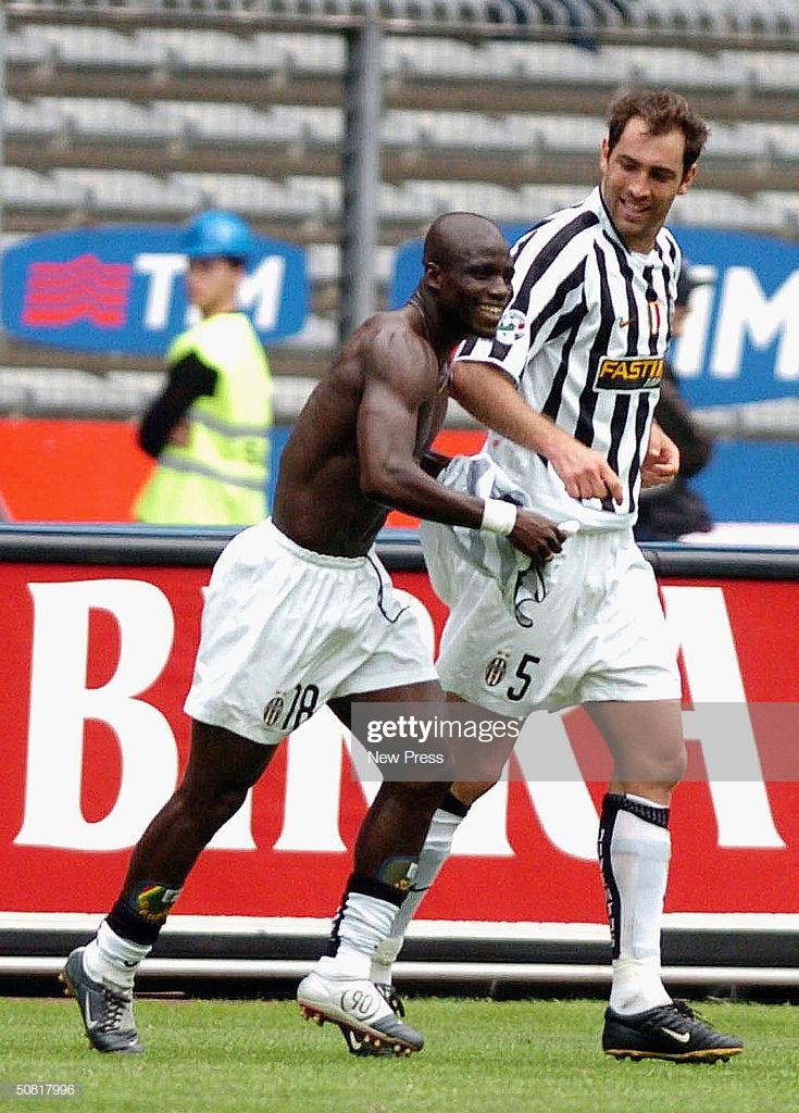 VIDEO: Juventus celebrate Stephen Appiah's magnificent goal against Cagliari