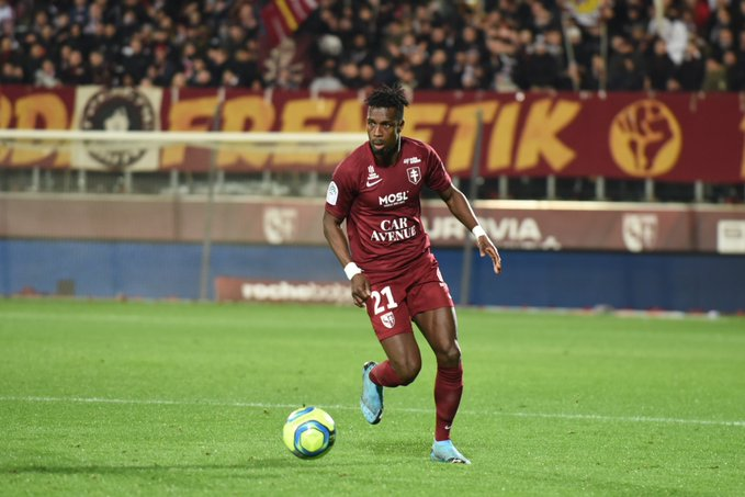 John Boye's lone strike helps FC Metz pip Strasbourg in Ligue 1