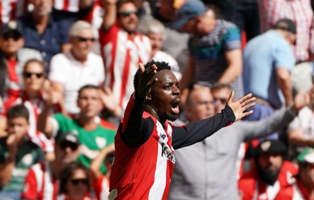 Ghanaian forward Inaki Williams suffers racist abuse in La Liga match