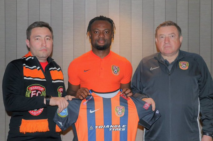 Ghana's Gideon Baah elated after move to Kazakhstani side Shakhtar Soligorsk FC