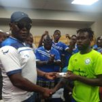 Ex-Great Olympics chief Humphrey Williams fulfills cash promise to playing body after Inter Allies victory