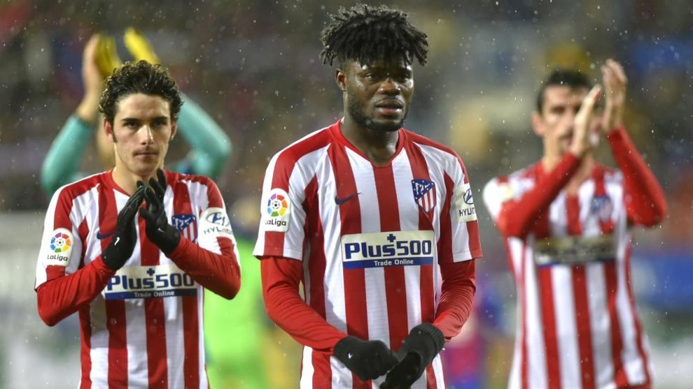 Ghana midfielder Thomas Partey admits Atletico Madrid deserved shock loss against Cultural Leonesa