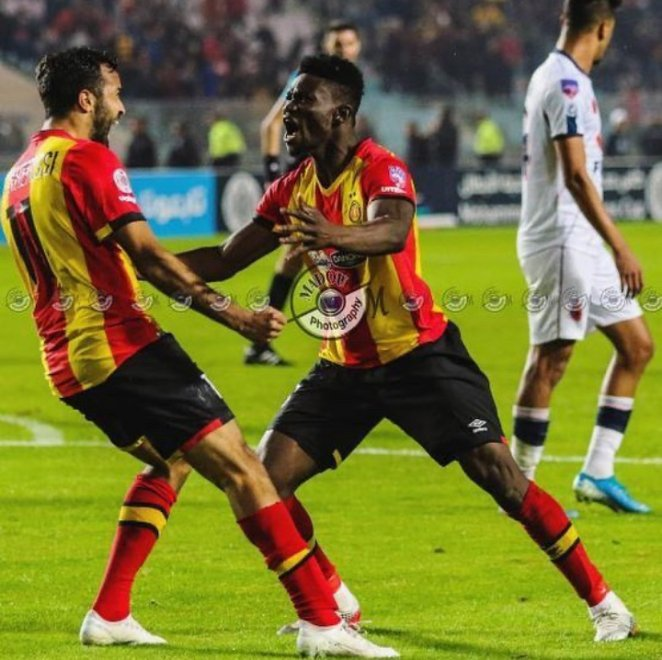 Ghana midfielder Kwame Bonsu powers Esperance de Tunis to victory in Tunisian top-flight