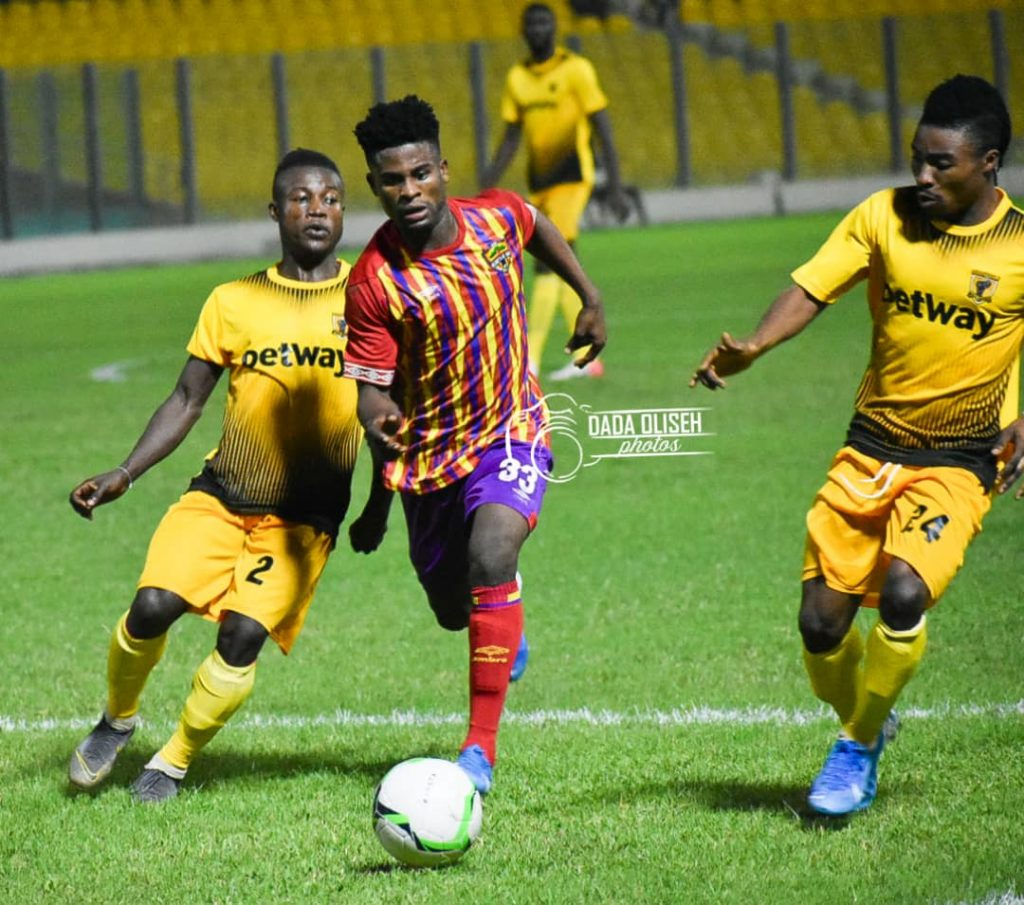 Hearts of Oak forward Daniel Afriyie broods over profligacy in draw against AshantiGold