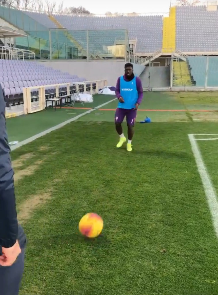 EXCLUSIVE: Fit-again Ghana midfielder Alfred Duncan trains separately at Fiorentina