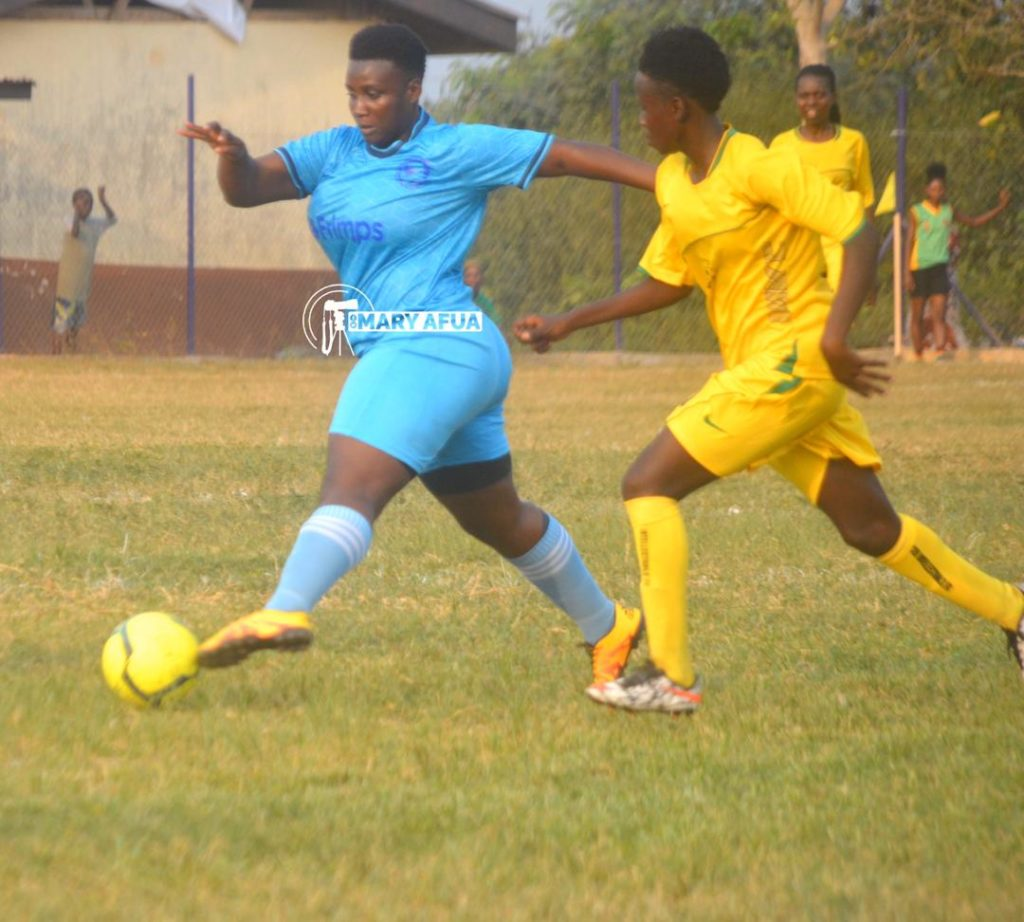 2019/20 Ghana Women's League: Samaria Ladies stutter as Soccer Intellectuals extend unbeaten streak