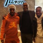 C.K Akonnor meets Belgium based Ghanaian trio Amuzu, Doku and Owusu