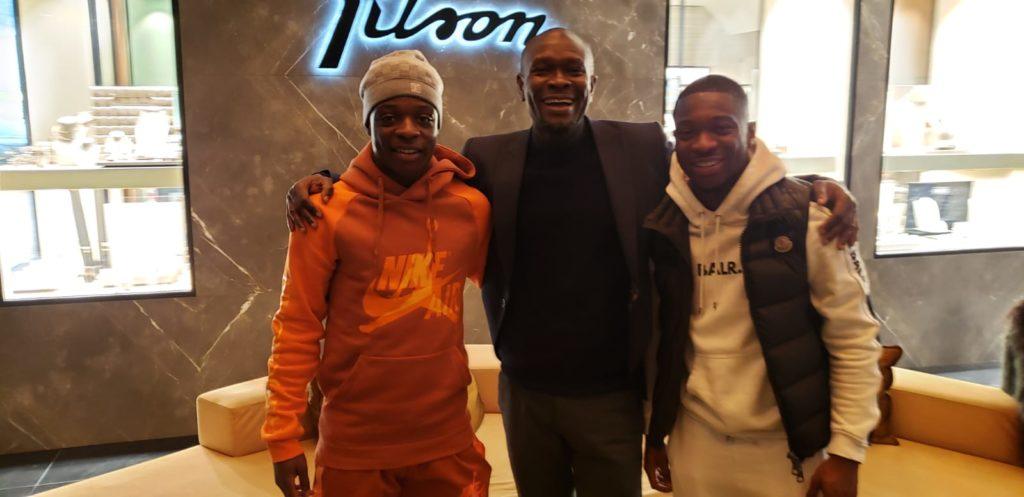 C.K Akonnor meets Belgium based Ghanaian trio Amuzu, Doku and Owusu
