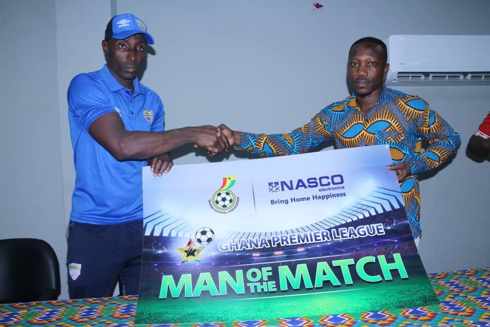 Hearts of Oak hero Kofi Kordzi wins MoTM gong after brace against Bechem United