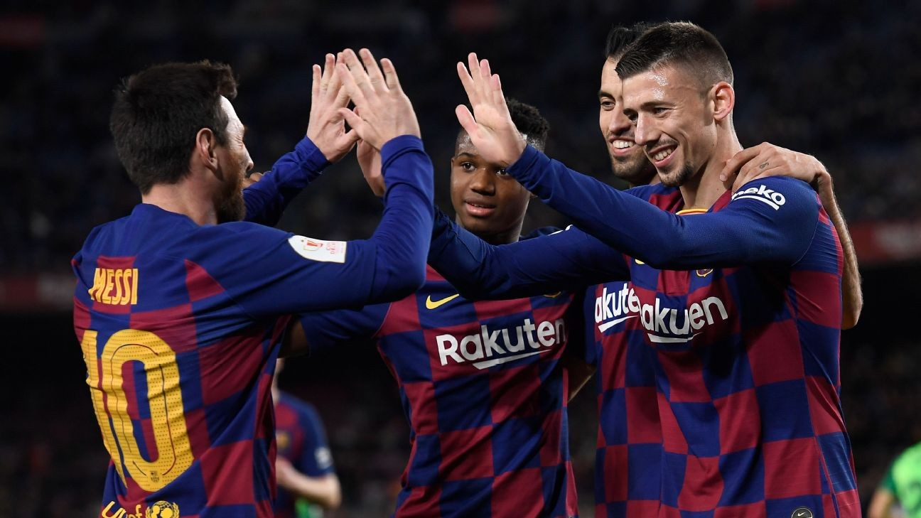 Barcelona players restrict access for documentary - sources