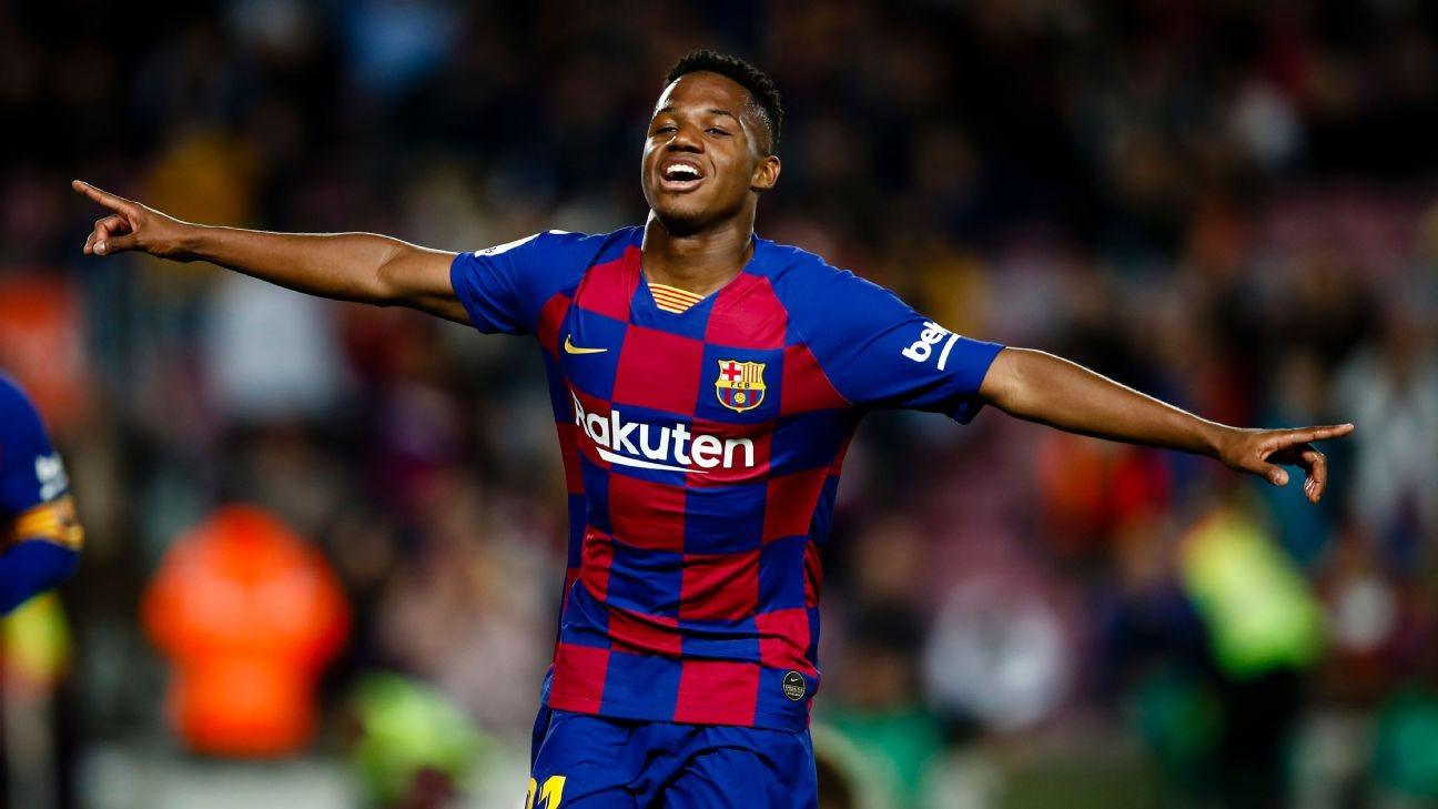 Barcelona get brilliance from Ansu Fati, Nelson Semedo in win vs. Levante