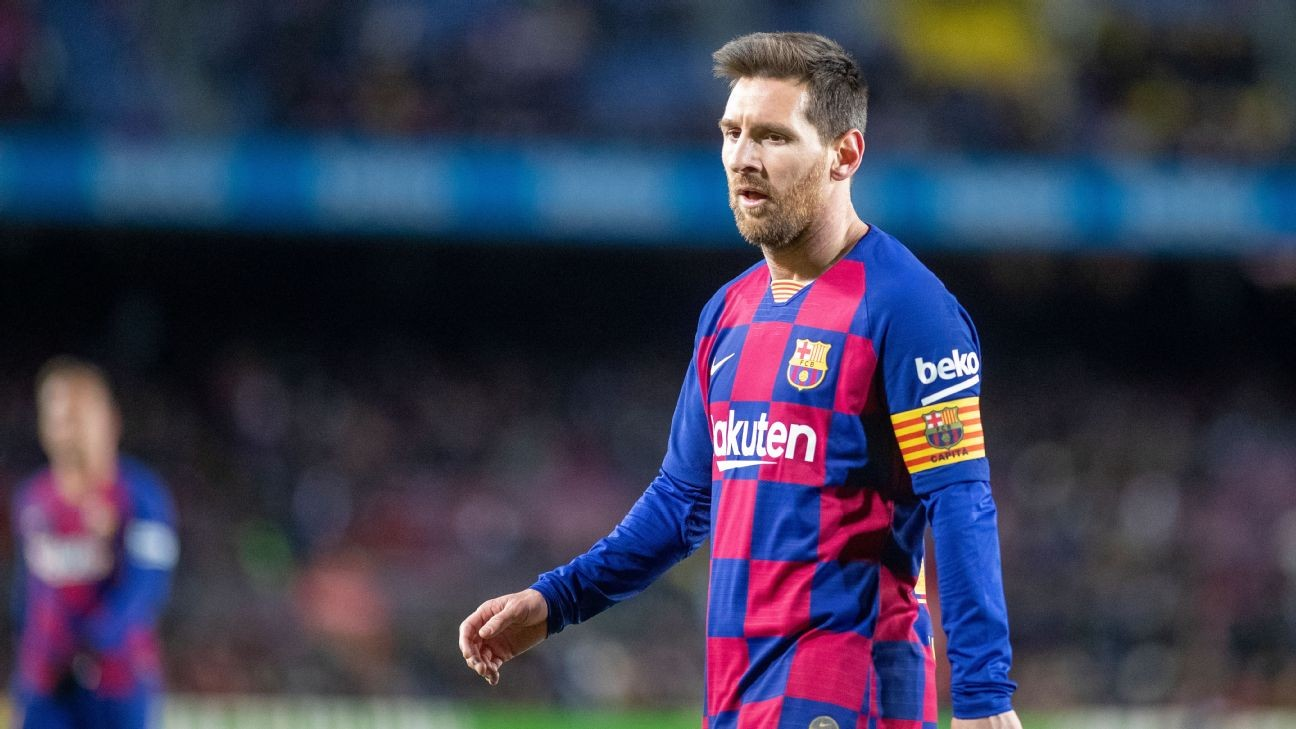 Messi playing through pain barrier in Barcelona injury crisis - sources