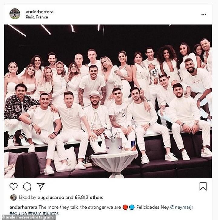 Inside Neymar's glamorous 28th birthday party in Paris nightclub