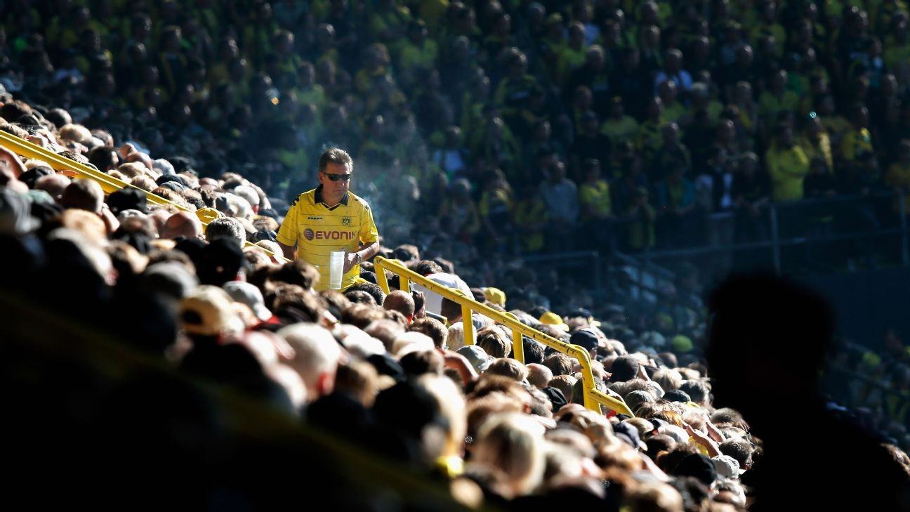 Best job ever? Borussia Dortmund fans want 'beer carrier,' paid in drinks and match tickets