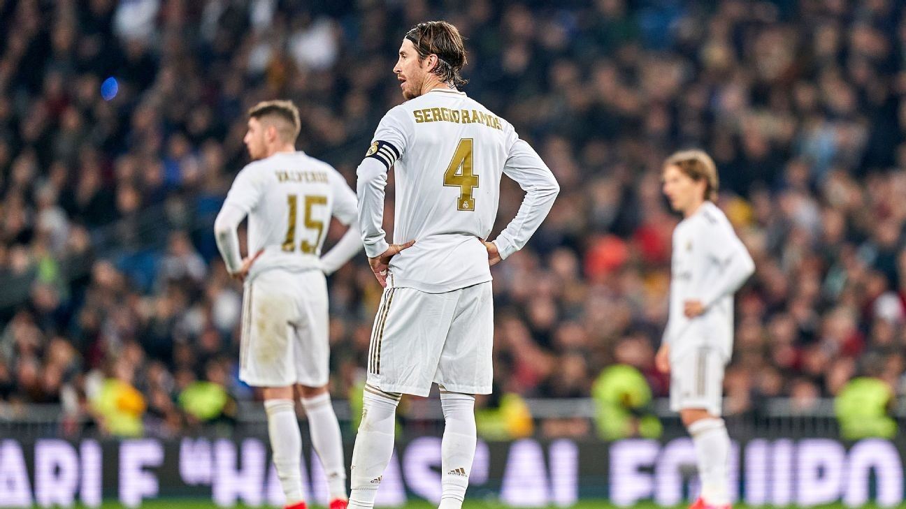 Real Madrid players appalled at defence in Copa del Rey exit - sources