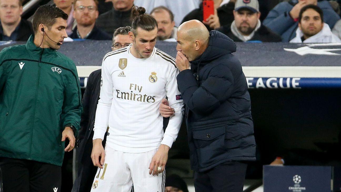 Real Madrid boss Zidane dismisses Bale agent's training claim