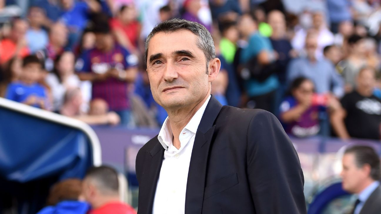 After Barcelona sacking, Ernesto Valverde seems at ease, almost 'free'