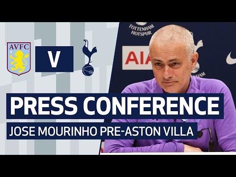 PRESS CONFERENCE | JOSE MOURINHO PRE-ASTON VILLA