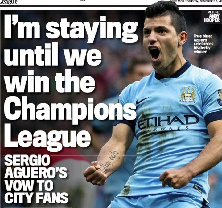 This year could be the last chance for Aguero...