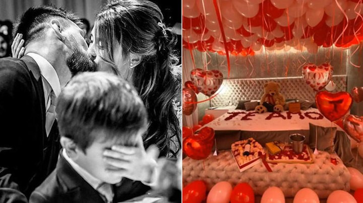 Antonela shares Messi's romantic Valentine's Day surprise to her