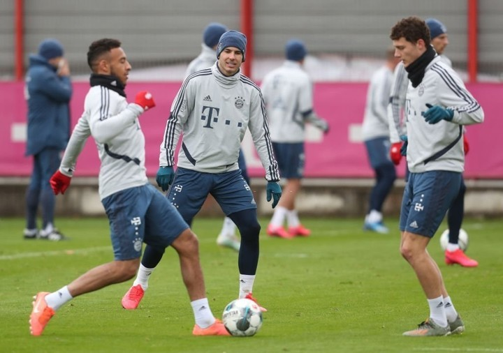 Bayern IN PICS: The Bavarians are actively preparing for Cologne clash