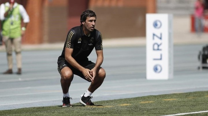 Raul has already convinced the Madrid board of his coaching ability