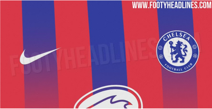 Chelsea 20-21 3rd kit design leaked, do you like the red & blue jersey?