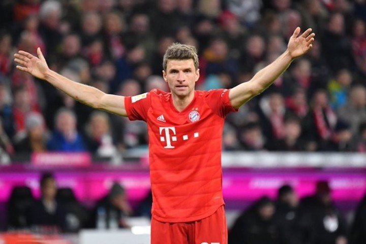 1st in Bundesliga, 2nd in top 5 leagues! Muller has made 14 assists this season