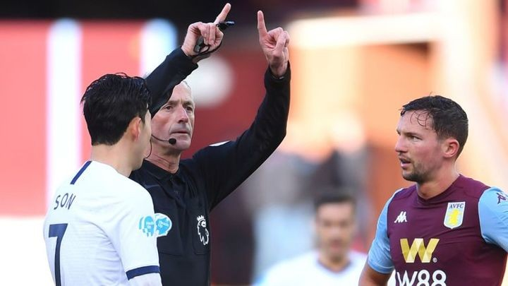 Villa manager Smith questions VAR penalty call during dramatic Tottenham defeat