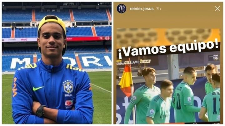 Reinier already feels like a Real Madrid Castilla player