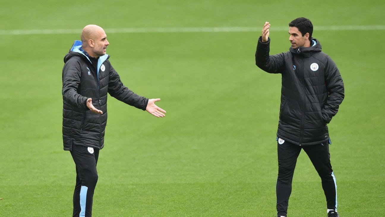 Arteta on Manchester City ban: I want best for my ex-boss Guardiola