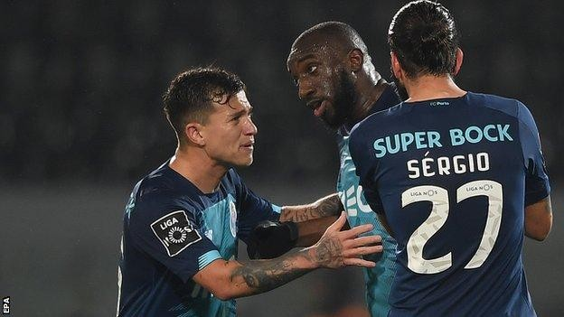 Porto's Moussa Marega quits match over racist abuse at Vitoria Guimaraes