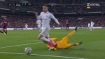 Andujar Oliver: Ruben Blanco brings Hazard down, it's a clear penalty