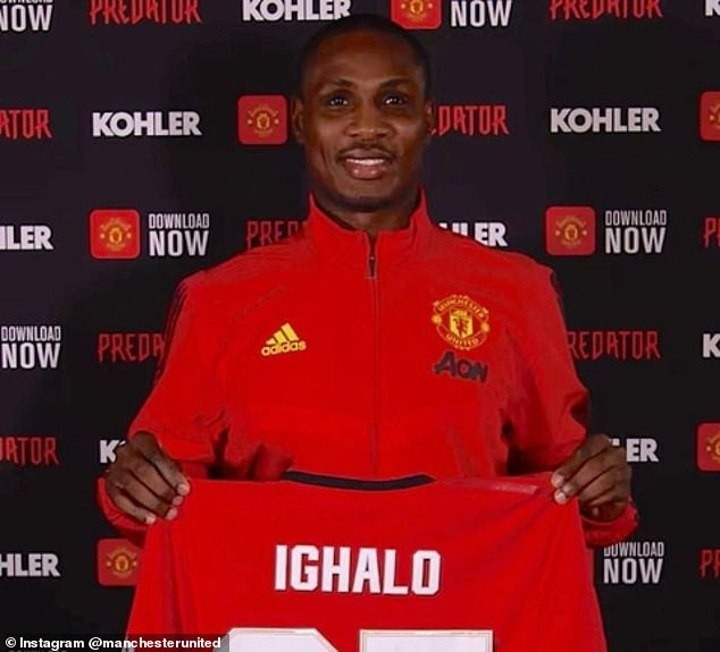 Solskjaer admits Ighalo could make permanent Man Utd switch if he impresses