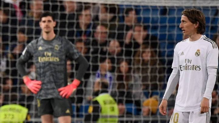 Courtois: We lose points that worth a lot at home, Hazard will find his rhythm