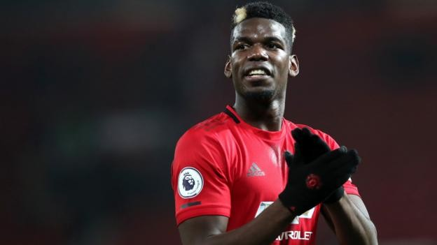 Man Utd manager Ole Gunnar Solskjaer says Paul Pogba faces battle to get fit again