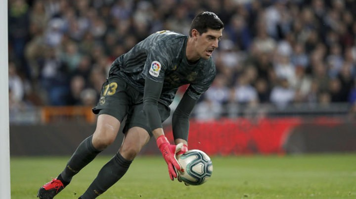Courtois: What they say about Barcelona being bad is a thing from the press