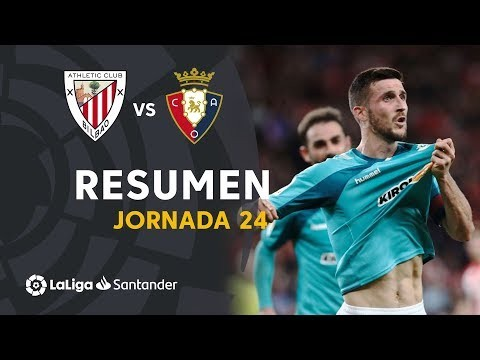 Resumen de Athletic Club vs CA Osasuna (0-1)