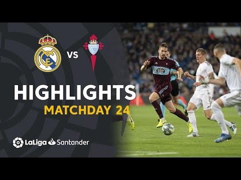 Highlights Real Madrid vs RC Celta (2-2)
