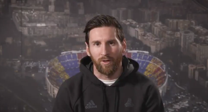 Messi: I am honoured to be the first footballer to win this award